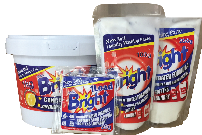 OhSoBright Laundry paste pack