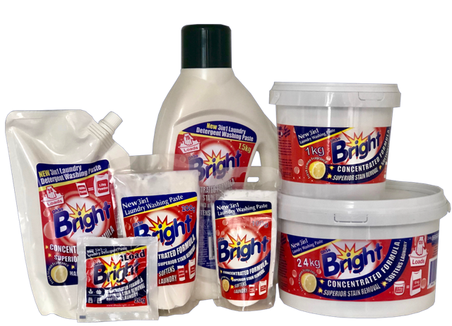 OhSoBright Laundry Detergent paste products